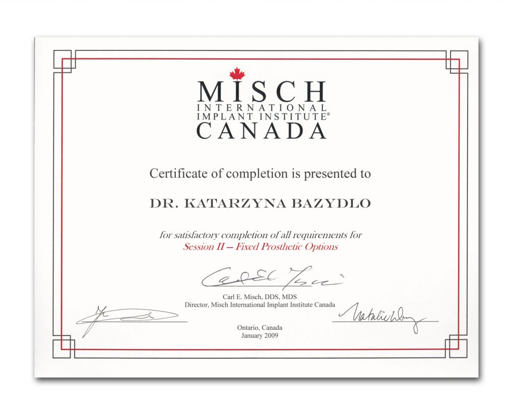 Misch International Implant Institute